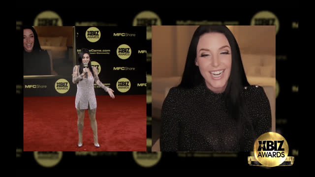 2021 XBIZ Awards Red Carpet Interview | Angela White